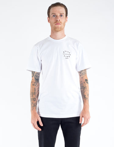 Still Life Diving Helment Tee White