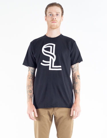 Still Life Ribbon Tee Black