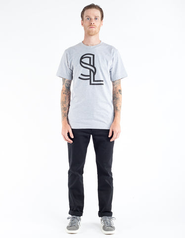 Still Life Ribbon Tee Heather Grey