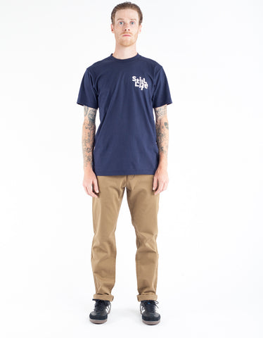 Still Life Scattered Tee Navy