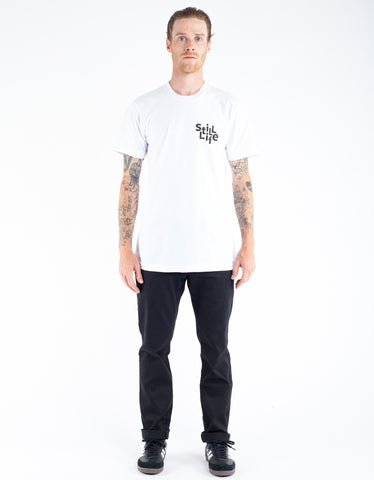 Still Life Scattered Tee White