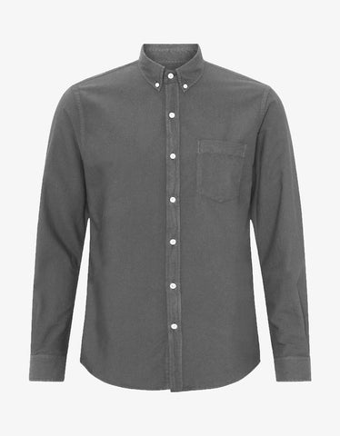 Colorful Standard Organic Button Down Shirt in Storm Grey