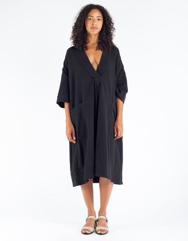 Sunja Link Pullover Dress Black