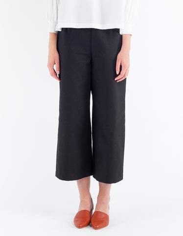 Sunja Link Cropped Pants Black
