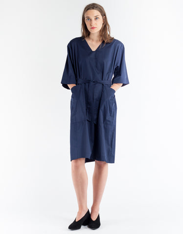 Sunja Link Patch Pocket Dress Navy