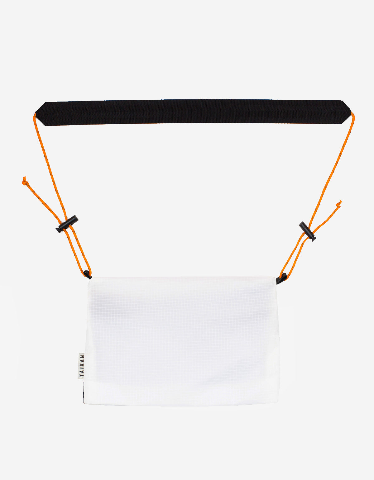 Taikan Large Sacoche Bag White Black Orange