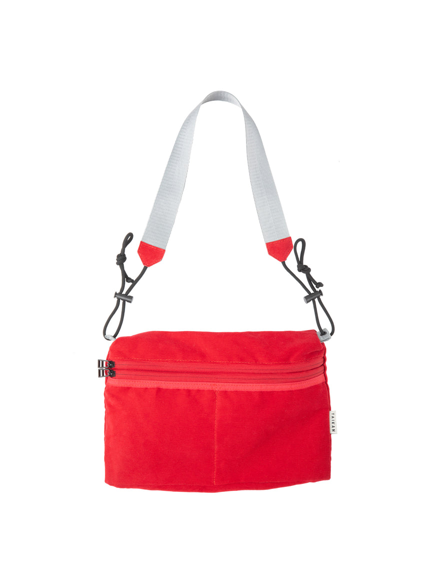 Taikan Sacoche Large Bag Red Cord