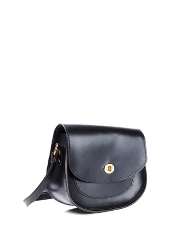 Tanner Goods Vanguard Saddle Bag Black - Still Life - 2