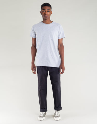 Tellason Pocket Tee Heather Grey