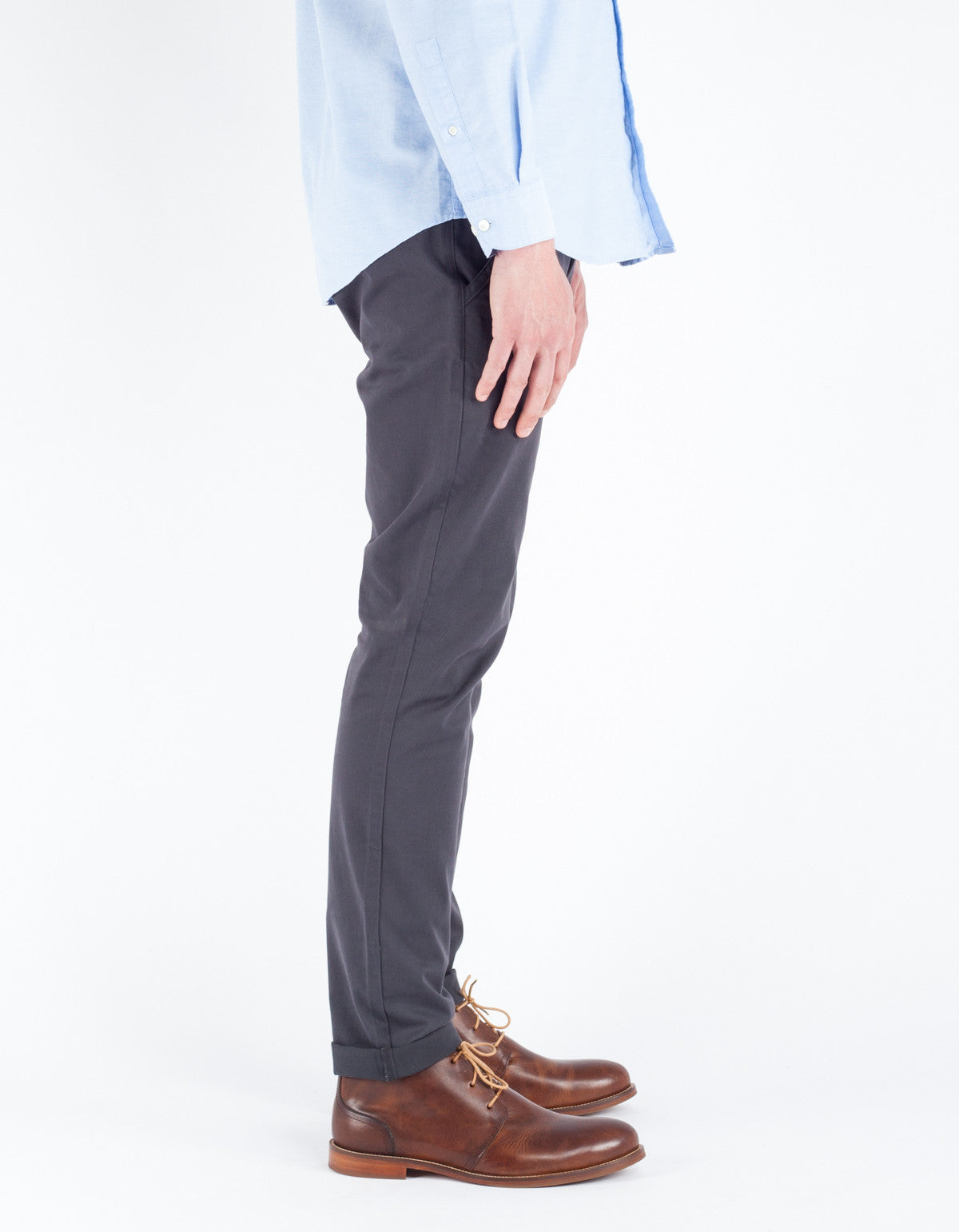 The Daily Co. Slim Chino Charcoal