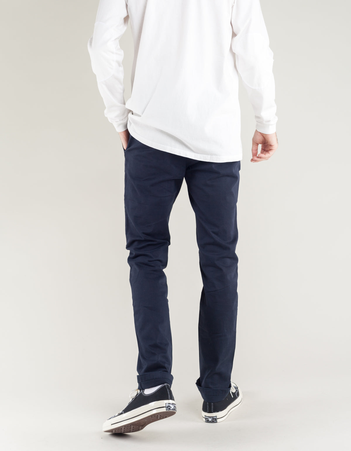 The Daily Co. Classic Chino Navy