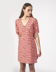 Thing Thing Blossom Dress Red Ditsy