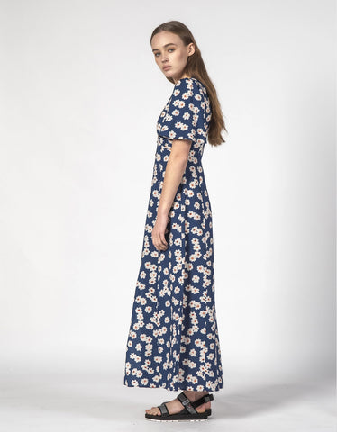 Thing Thing Lyds Dress Navy Bloom