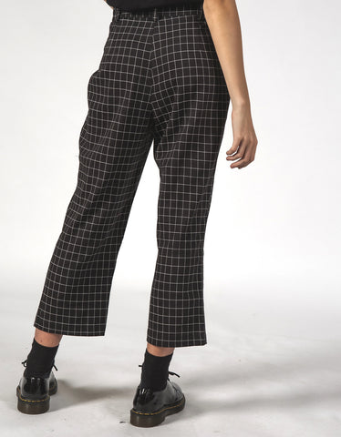Thing Thing Vincent Pant Black Grid