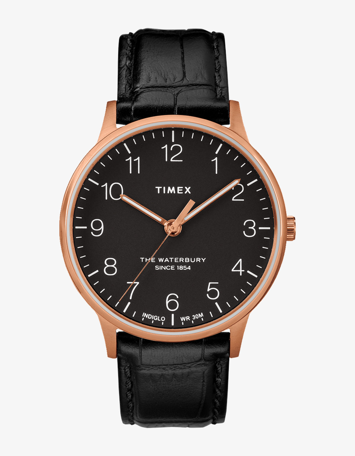 Timex Waterbury Classic 40 Watch Rose, Black, Black
