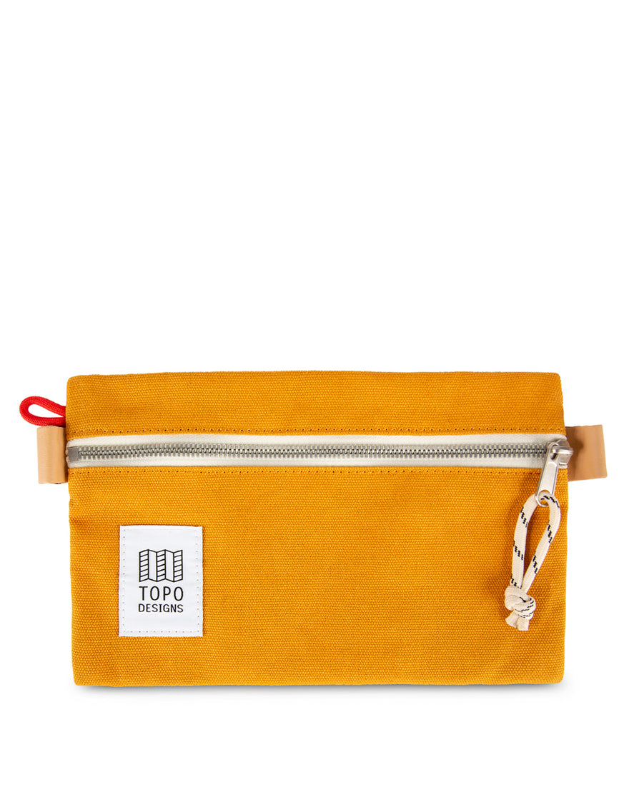 Topo Designs Accessory Bag Medium Mustard Canvas