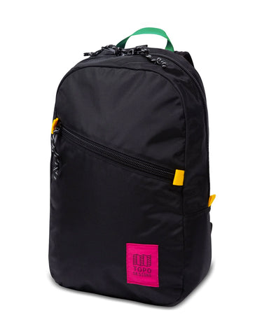 Topo Designs Light Pack Black, Neon