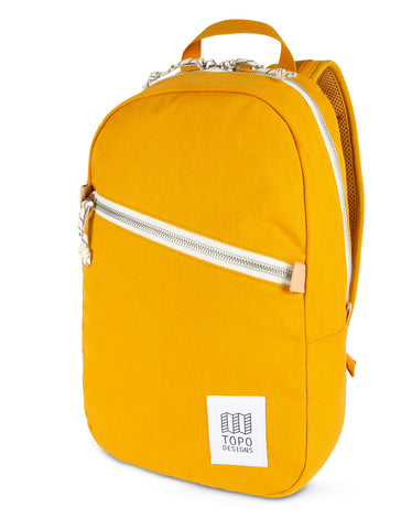 Topo Designs Light Pack Mustard Canvas