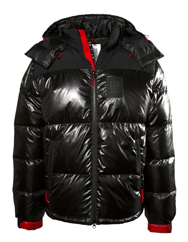 Topo Designs Men's Big Puffer Jacket Black