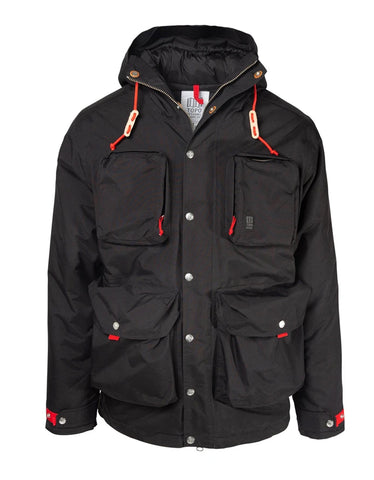 Topo Designs Men's Mountain Jacket Black