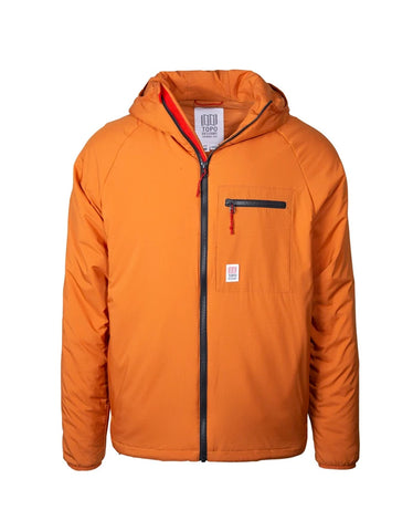 Topo Designs Men's Puffer Hoody Clay