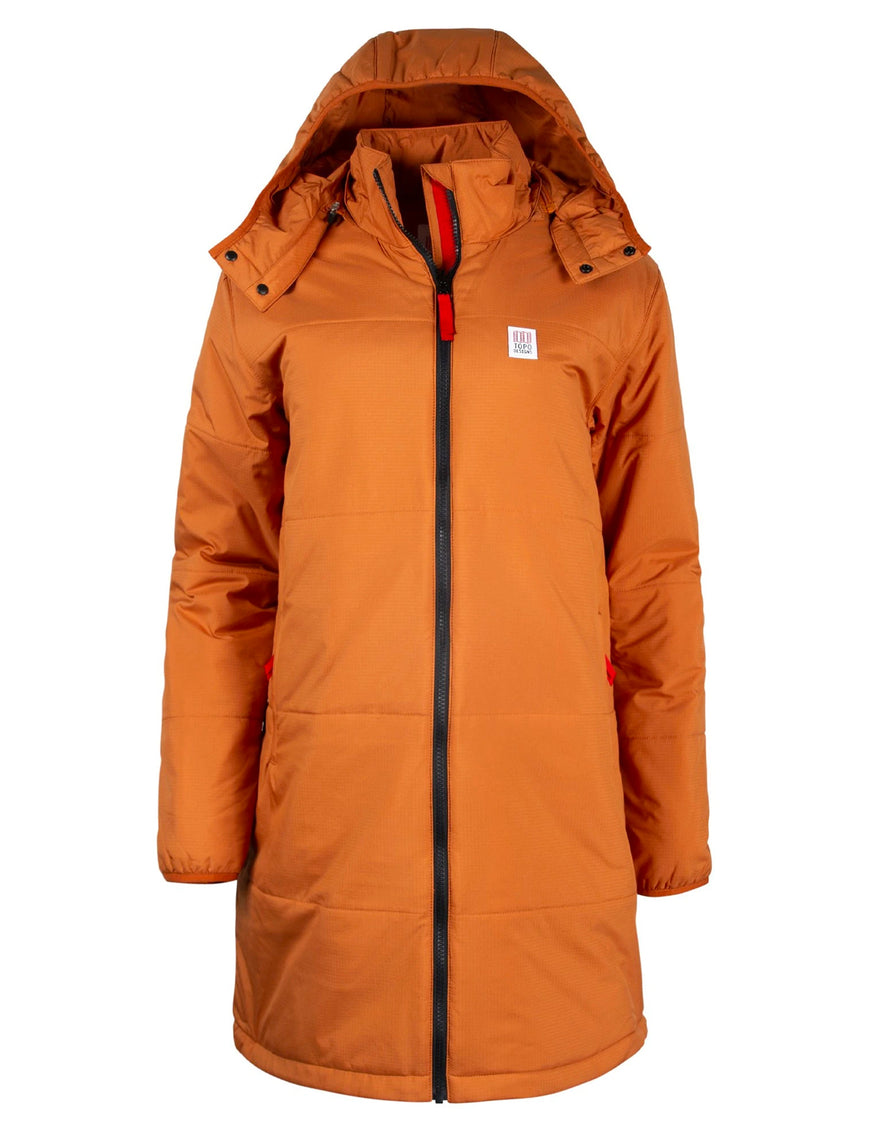 Topo Designs Women's Puffer Parka Clay