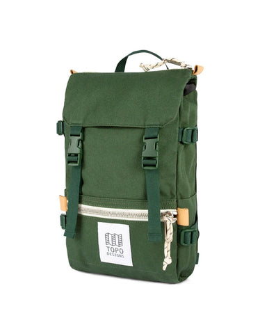 Topo Designs Rover Pack Mini Forest Canvas