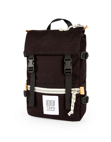 Topo Designs Rover Pack Mini Black Canvas