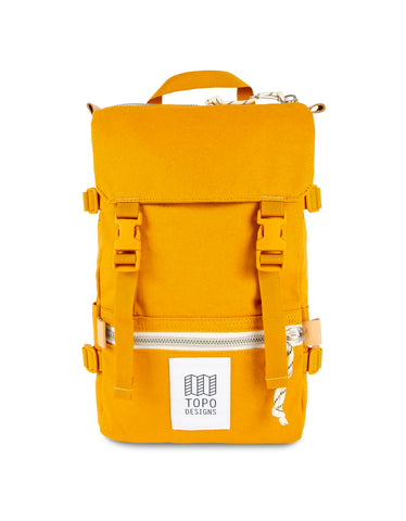Topo Designs Rover Pack Mini Mustard Canvas