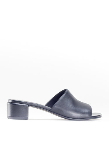 Vagabond Aisha Leather Slide Black