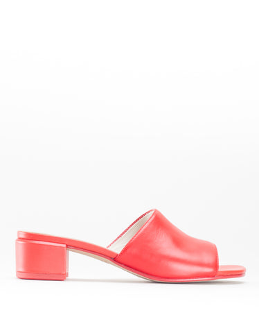 Vagabond Aisha Leather Mule Red