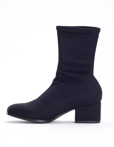 Vagabond Daisy Stretch Boot Black