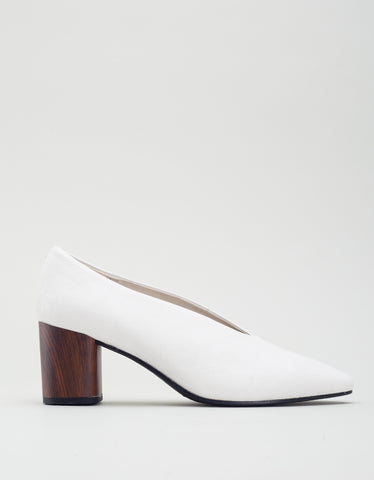 Vagabond Eve Pump Cream White