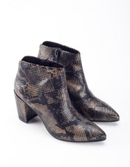 Vagabond Saida Boot Black Metallic