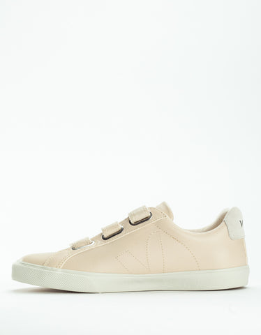 Veja Esplar 3 Locks Leather Sneaker Sable Pierre