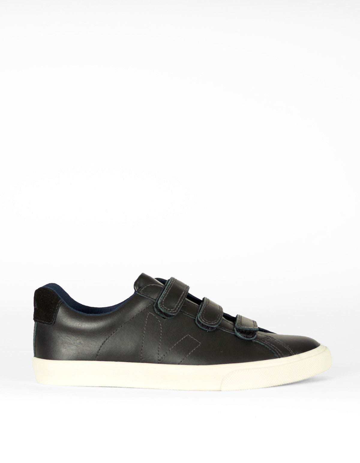 Veja Esplar 3 Locks Leather Sneaker Black Black - Still Life - 1