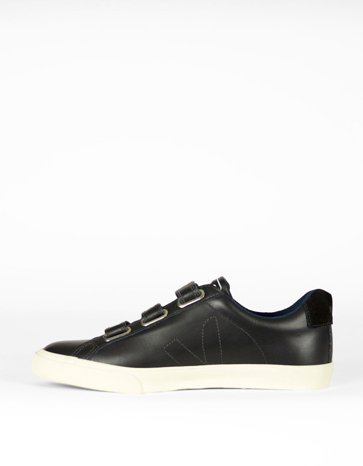 Veja Esplar 3 Locks Leather Sneaker Black Black - Still Life - 3