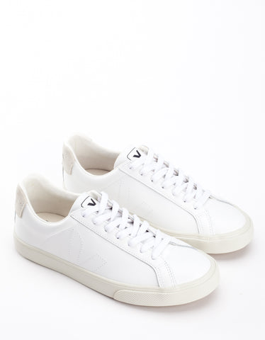 Veja Women's Esplar Low Leather Sneaker Extra White