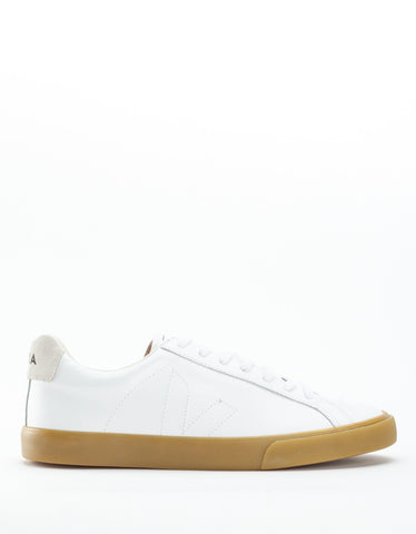 Veja Esplar Low Leather Sneaker Extra White Natural