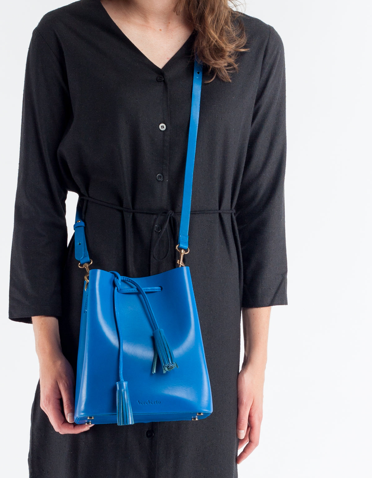 VereVerto Dita Bucket, Crossbody & Backpack Cobalt