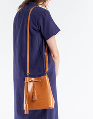 VereVerto Dita Bucket, Crossbody & Backpack Honey