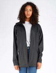 Rains Breaker Jacket Women's Black - Still Life - 1