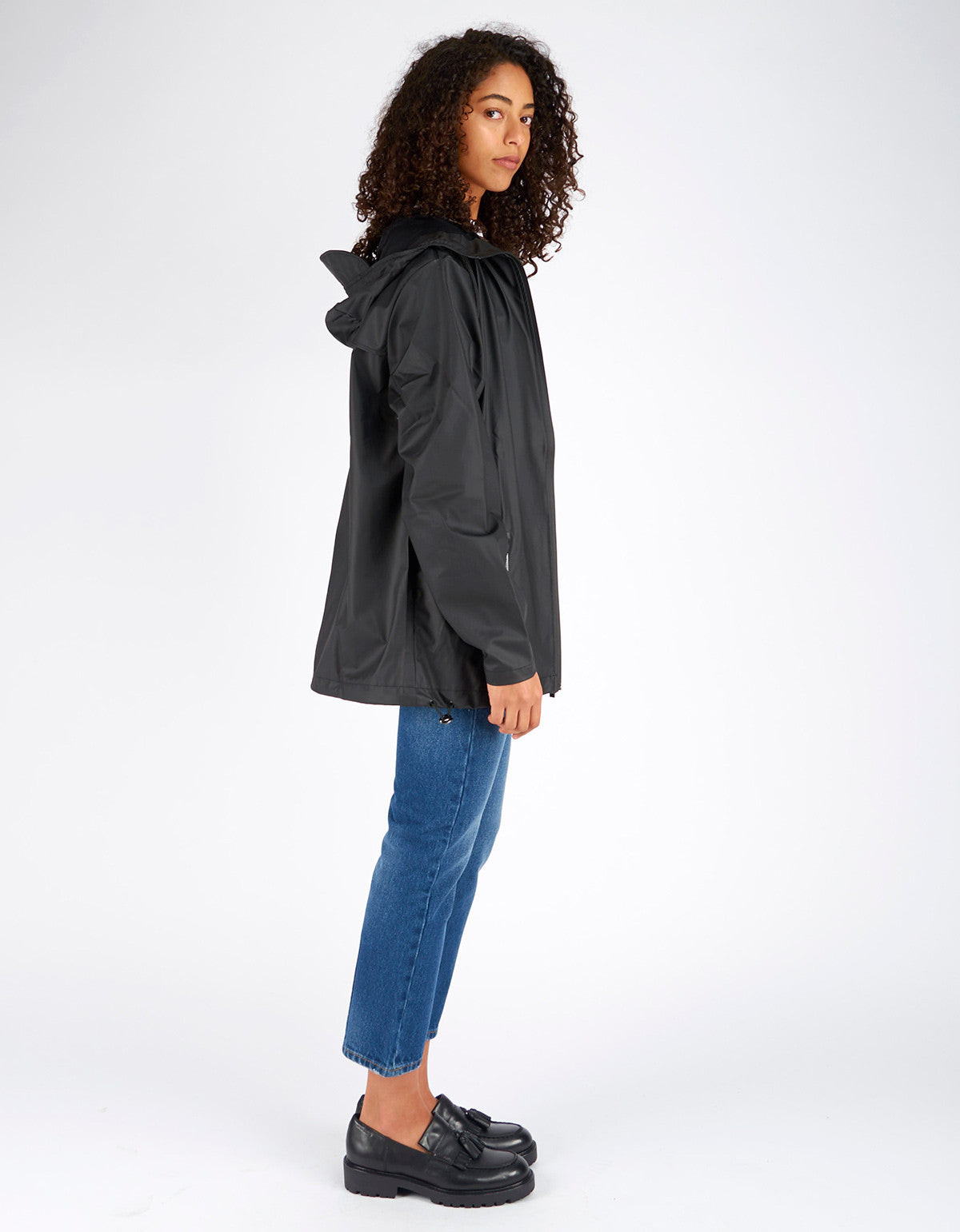 Rains Breaker Jacket Women's Black - Still Life - 3
