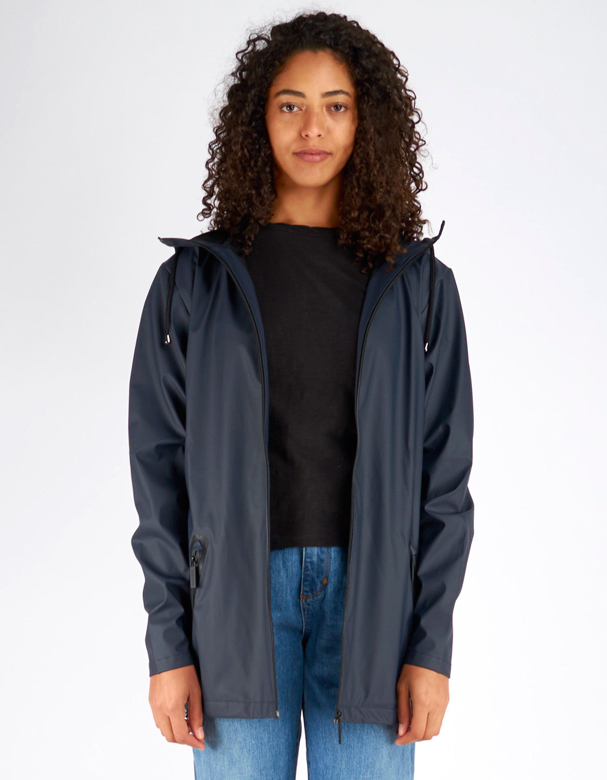 Rains Women's Breaker Jacket Black - Still Life - 1