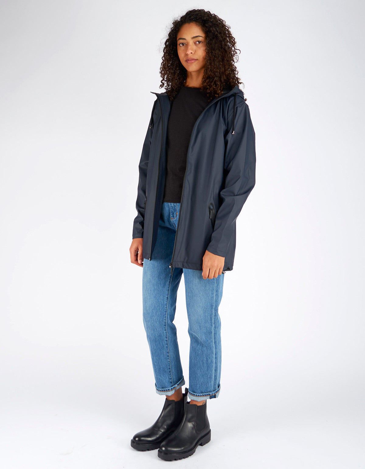 Rains Women's Breaker Jacket Black - Still Life - 3