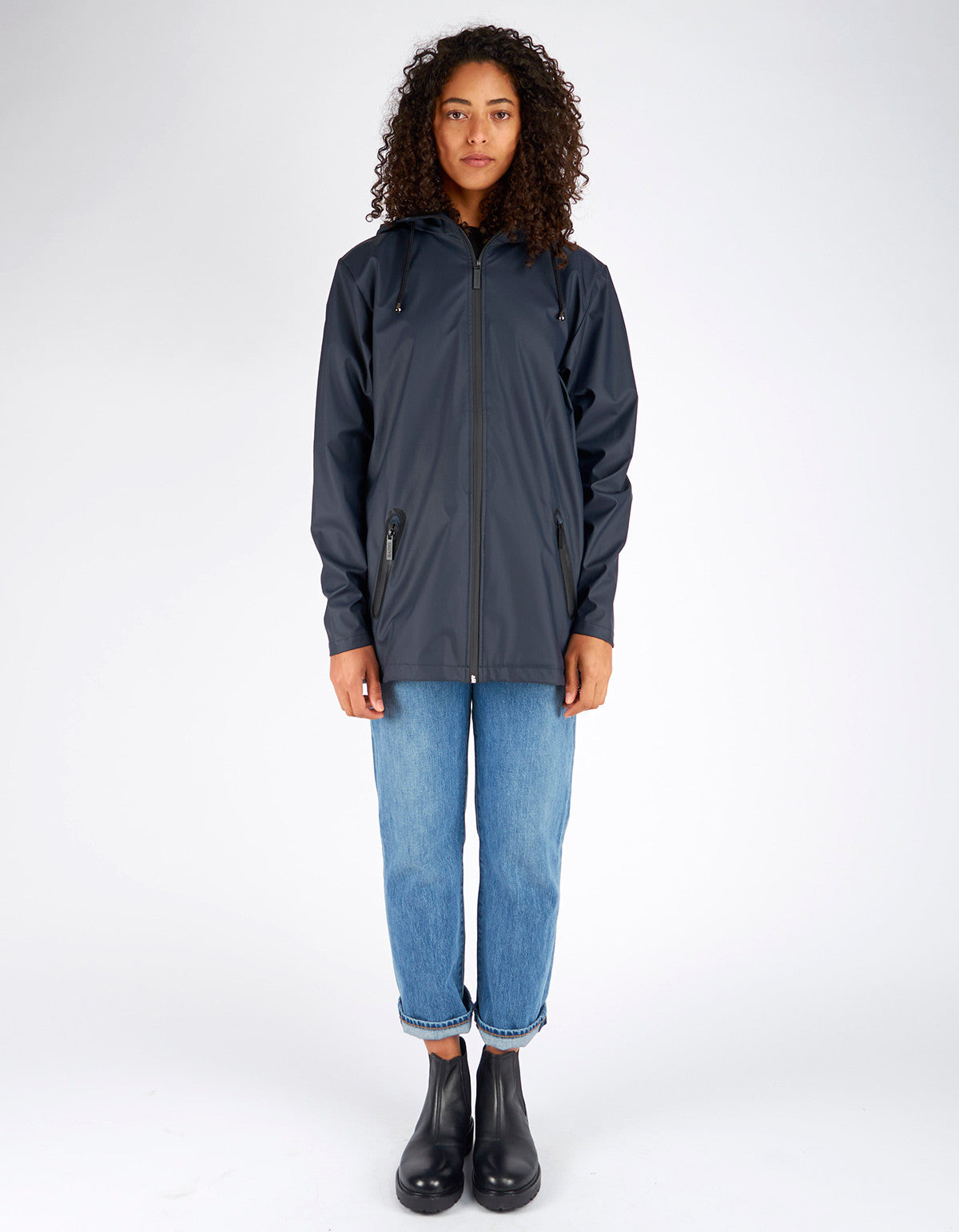 Rains Women's Breaker Jacket Black - Still Life - 6