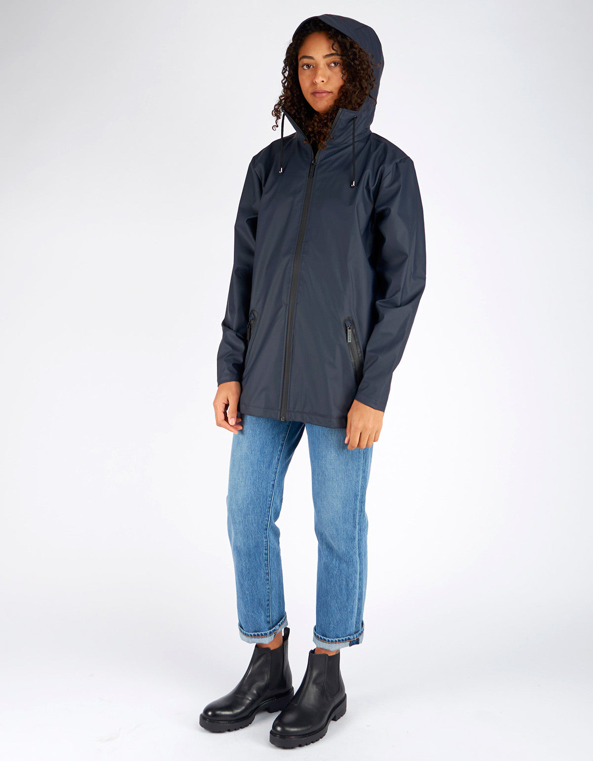 Rains Women's Breaker Jacket Black - Still Life - 7