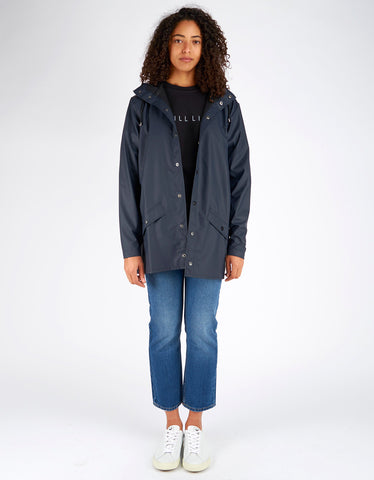 Rains Women's Jacket Blue - Still Life - 2