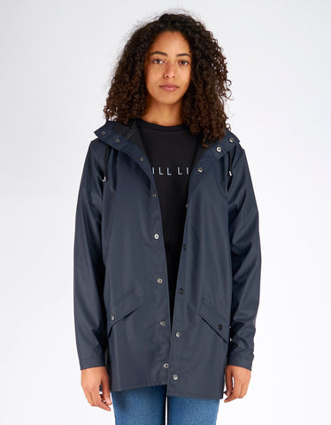 Rains Women's Jacket Blue - Still Life - 1