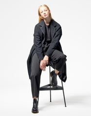 Wemoto Orbit Coat Black
